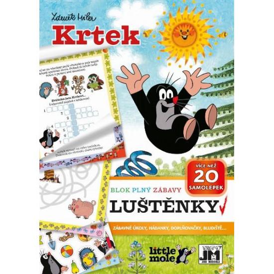 Aktivity bloky - Luštěnky Krtek