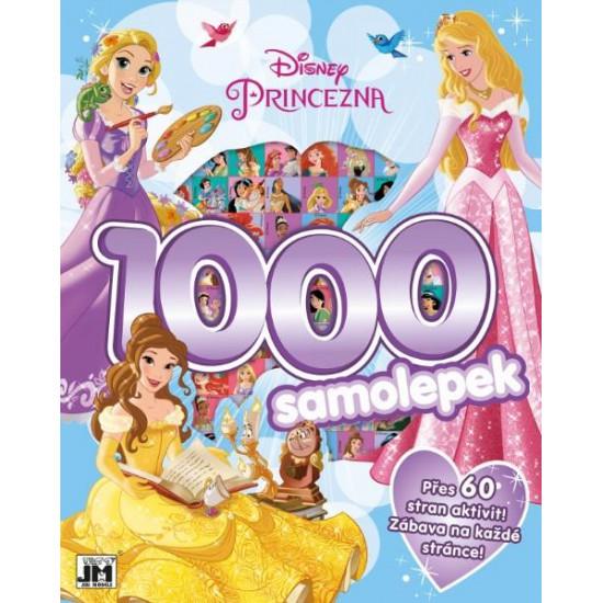 1000 samolepek s aktivitami Disney Princezny