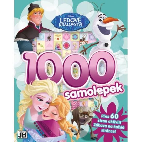 1000 samolepek s aktivitami Ledové království