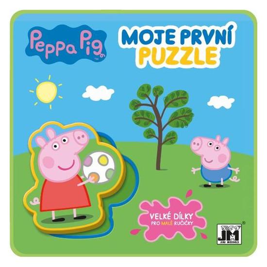 Pěnové puzzle knížky Prasátko Peppa
