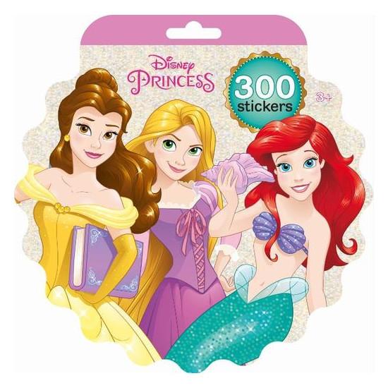 Holografický blok samolepek Disney Princezny