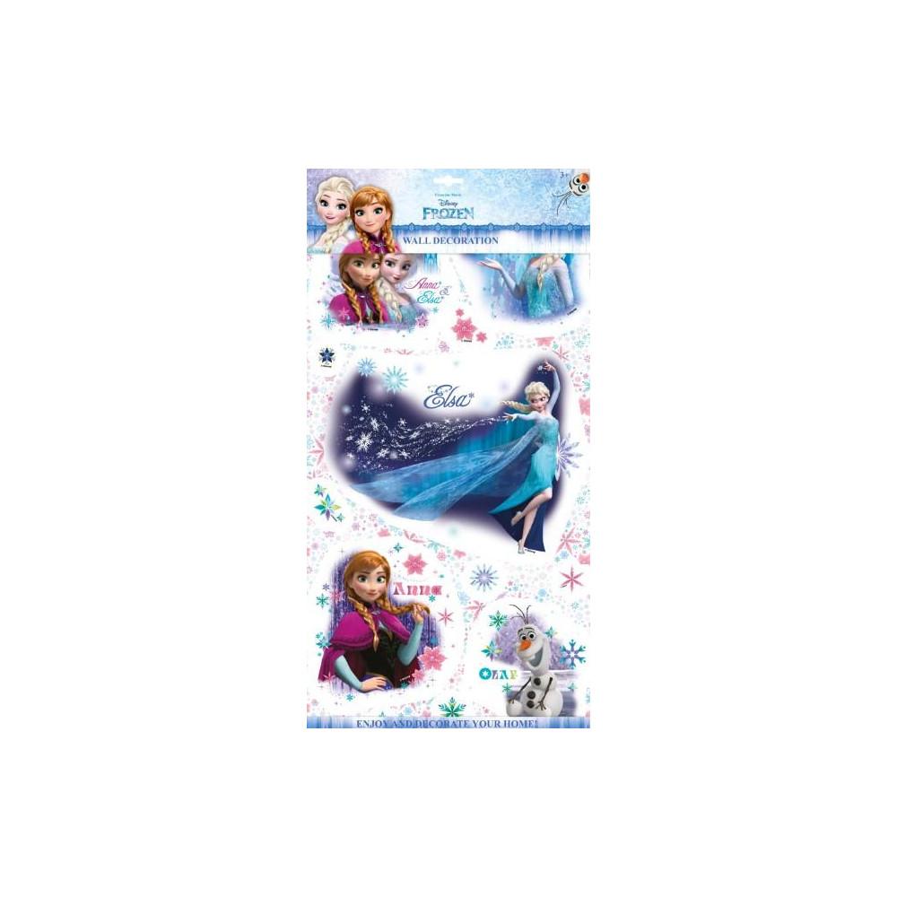 2D samolepky na zeď Ledové království