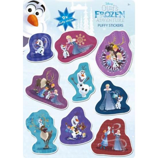Náplň Olafova dobrodružství Ledové království