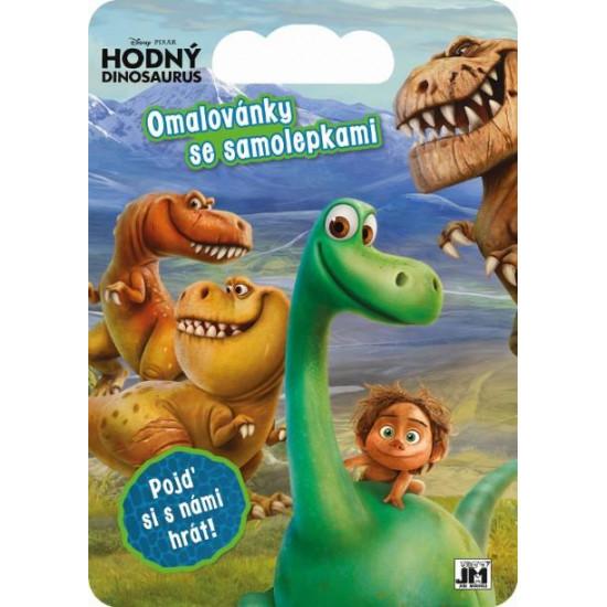 Kreativní bloky se samolepkami Hodný dinosaurus