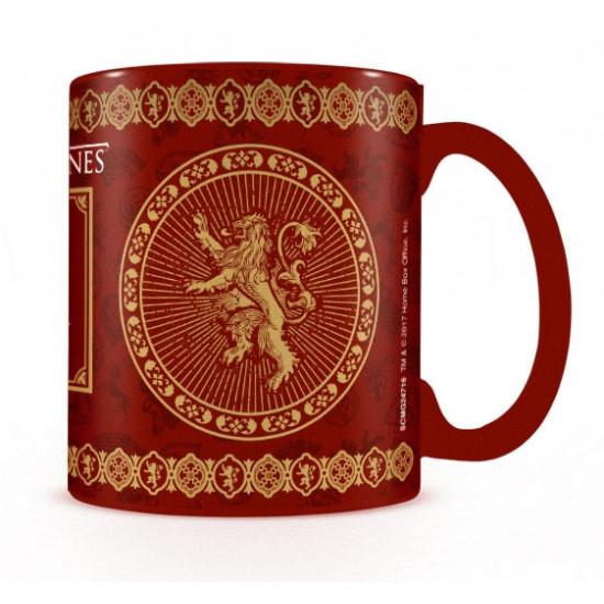 Hrnek Game of Thrones (Hra o trůny) - Lannister - mění barvu