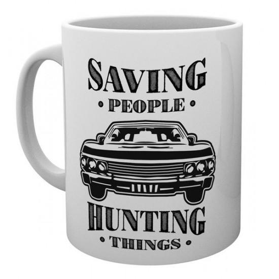 Hrnek Lovci duchů (Supernatural) - Hunting Things, Saving people