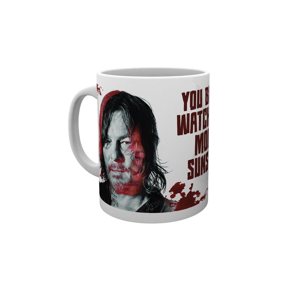 Hrnek The Walking Dead (Živí mrtví) - Daryl - Sunshine