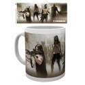 Hrnek The Walking Dead (Živí mrtví) - Daryl, Michonne, Rick