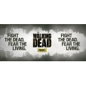 Hrnek The Walking Dead (Živí mrtví) - Fight The Dead, Fear the Living