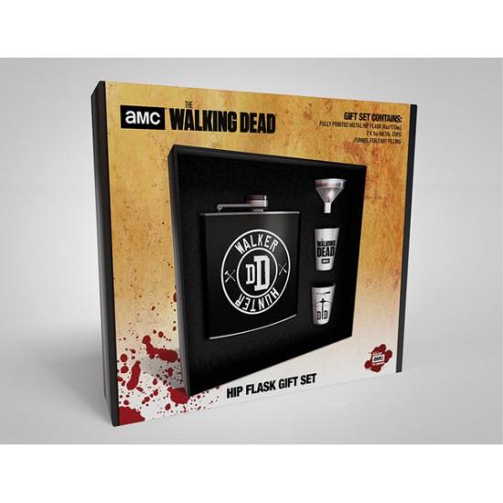 Set Walking Dead (Živí mrtví) - placatka a panáky