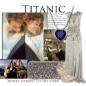 Náhrdelník Titanic - Srdce oceánu