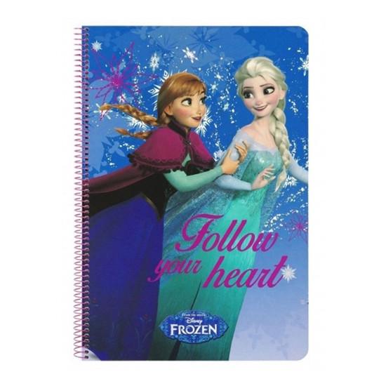 Diář Frozen (Ledové království) - Fllow your heart