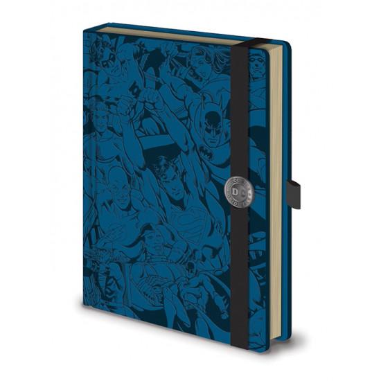 Diář DC Comics (modrá)