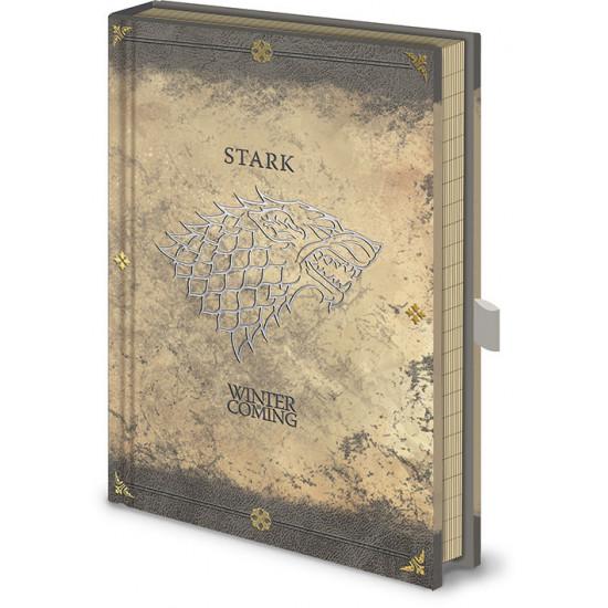 Diář Hra o trůny (Game of Thrones) - Stark 4