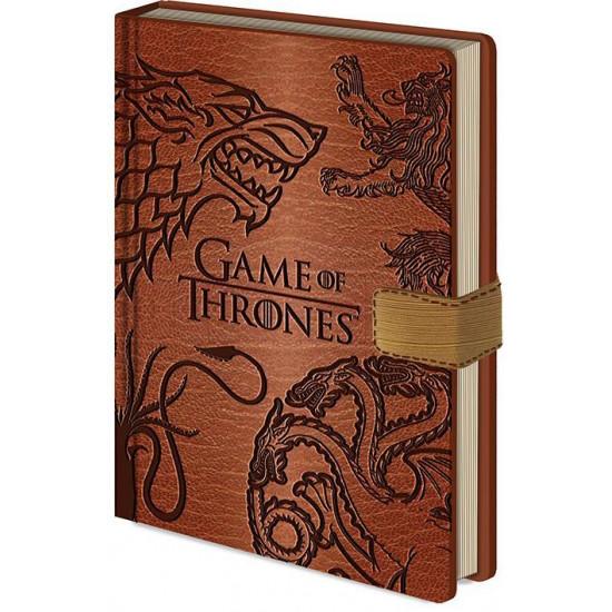 Diář Hra o trůny (Game of Thrones) - Znaky rodů