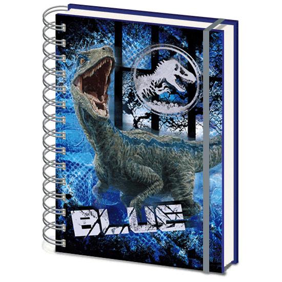 Diář Jurský Svět (Jurassic World) - Blue 3D
