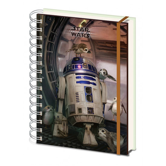 Diář Star Wars -R2 D2 a Porgs