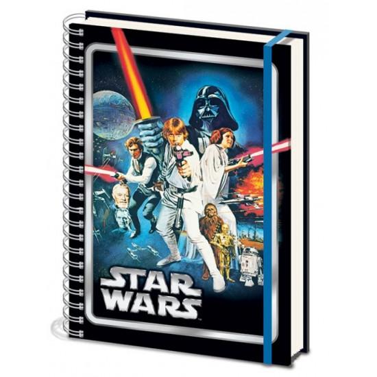 Diář Star Wars 2 (spirálový) A4
