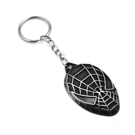 Klíčenka Spider-Man - hlava (stříbrný)