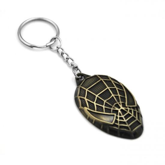 Klíčenka Spider-Man - hlava (zlatý)