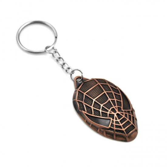 Klíčenka Spider-Man - hlava (bronzový)