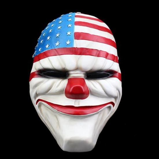 Maska PayDay 2 - klaun