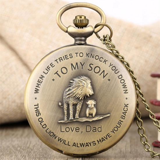 Kapesní hodinky - Lví král