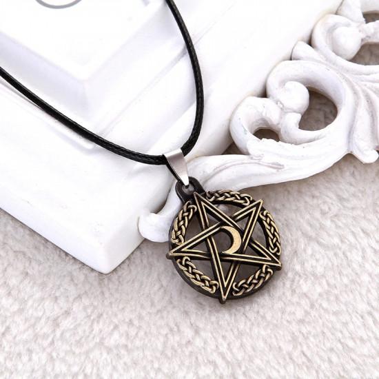 Náhrdelník Lovci duchů (Supernatural) - amulet (bronzový)