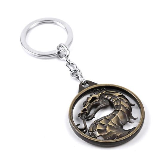 Klíčenka Mortal Kombat (stříbrná)