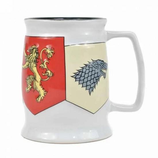 Hrnek Hra o Trůny (Game of Thrones) - Banner Sigils