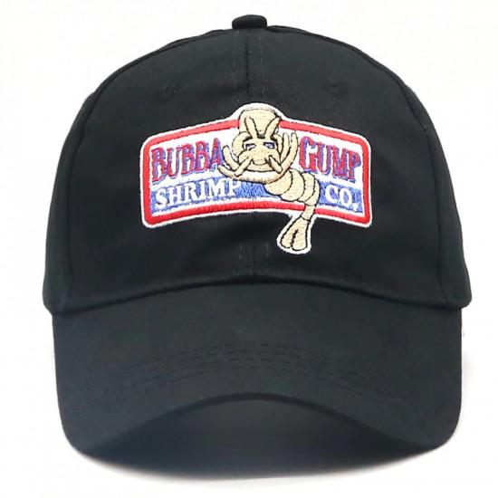 Čepice Forrest Gump - BubbaGump krevety (černá)