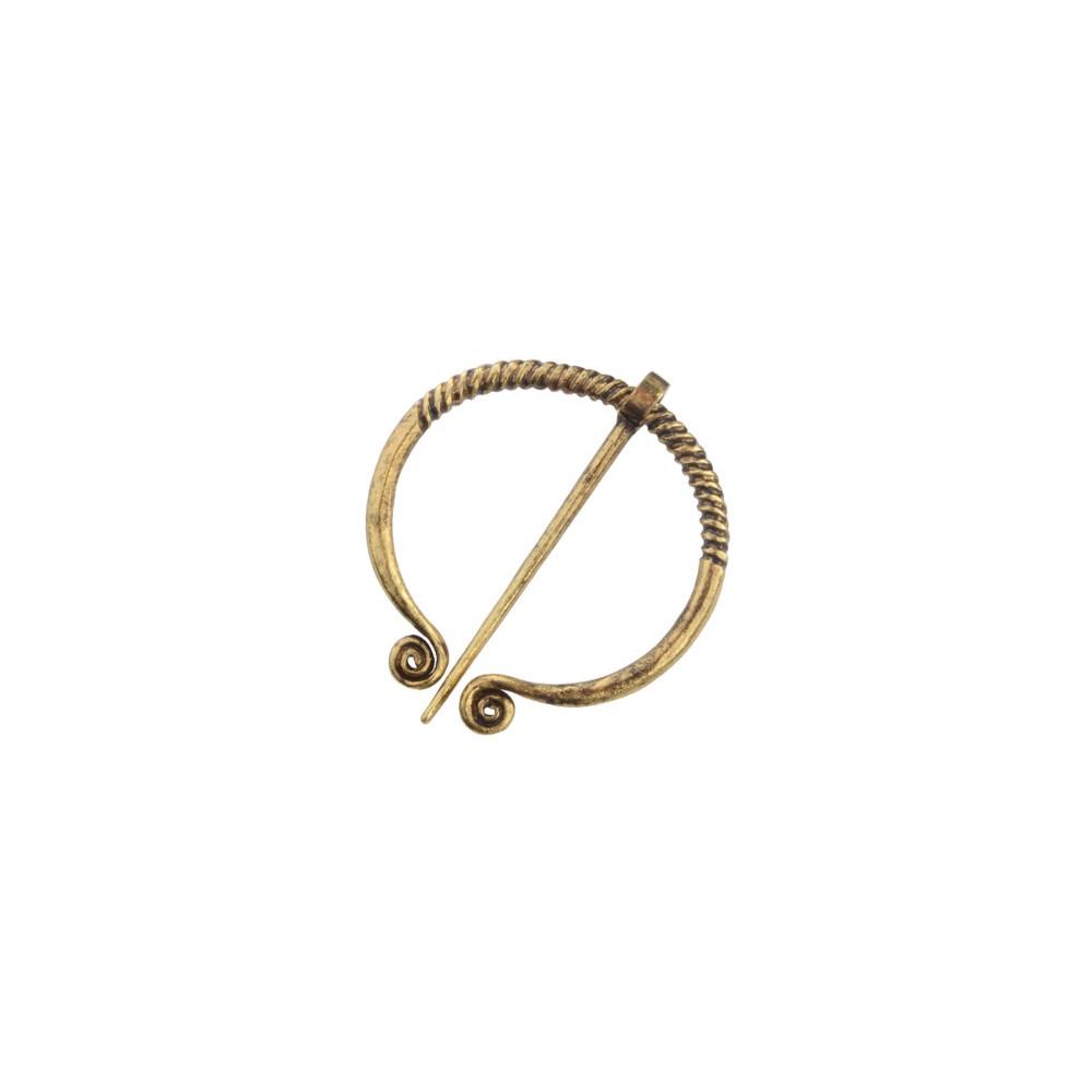 Brož Vikingové - kruh (zlato)