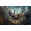 Řetízek World of Warcraft - symbol Hordy (zlatý)