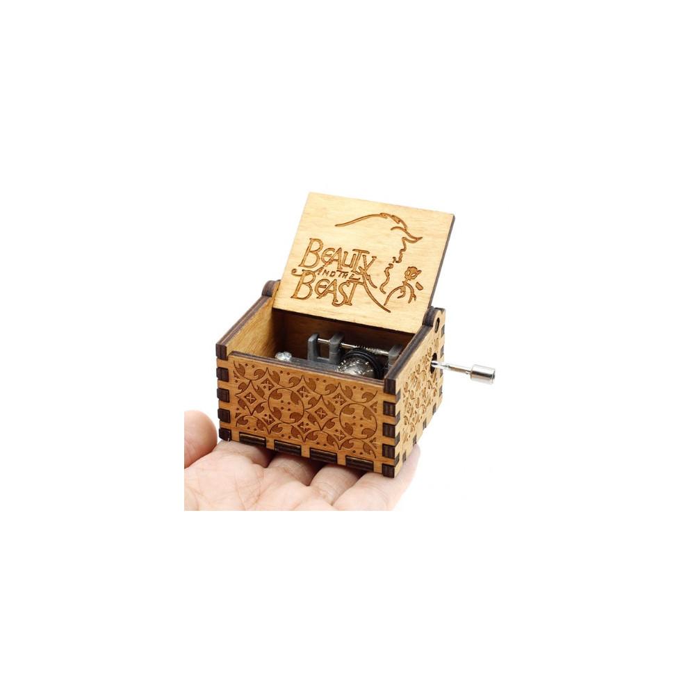 Hrací skříňka Kráska a zvíře