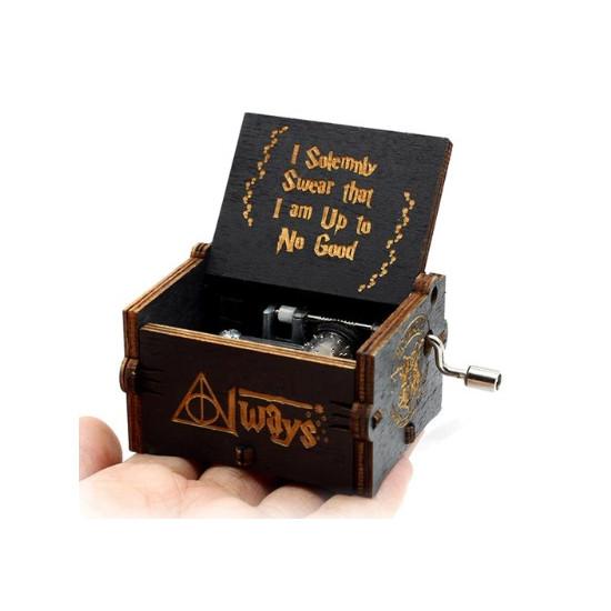 Hrací skříňka Harry Potter (černá)