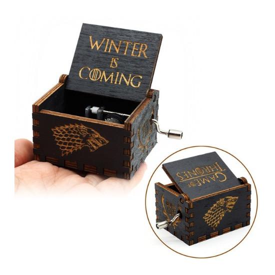Hrací skříňka Hra o trůny (Game of Thrones) - černá