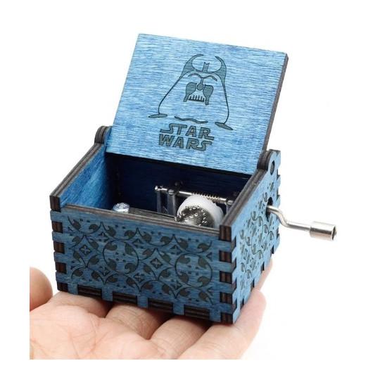 Hrací skříňka Star Wars - modrá