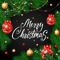 Hrací skříňka Merry Christmas