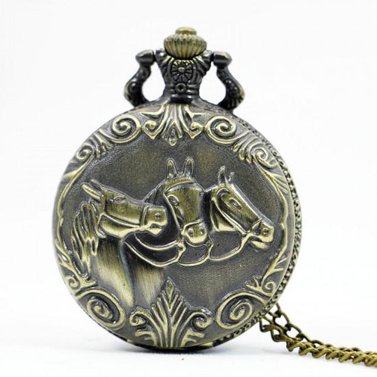 Kapesní hodinky - Koňská láska