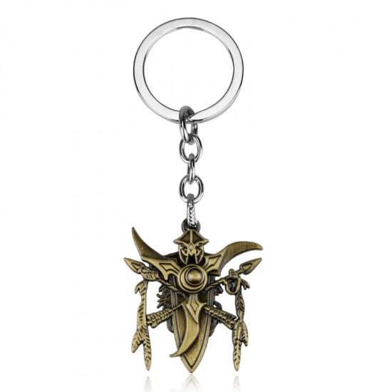Klíčenka  Warcraft - zlatá