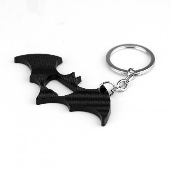 Klíčenka Batman - otvírák ( černá )