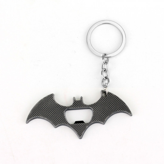 Klíčenka Batman - otvírák (stříbrná)