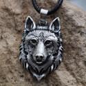 Řetízek Vikingové - hlava vlka