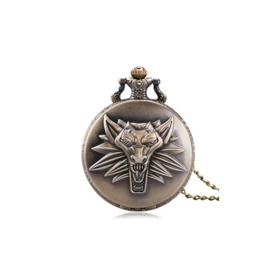 Kapesní hodinky - Zaklínač (zlaté)