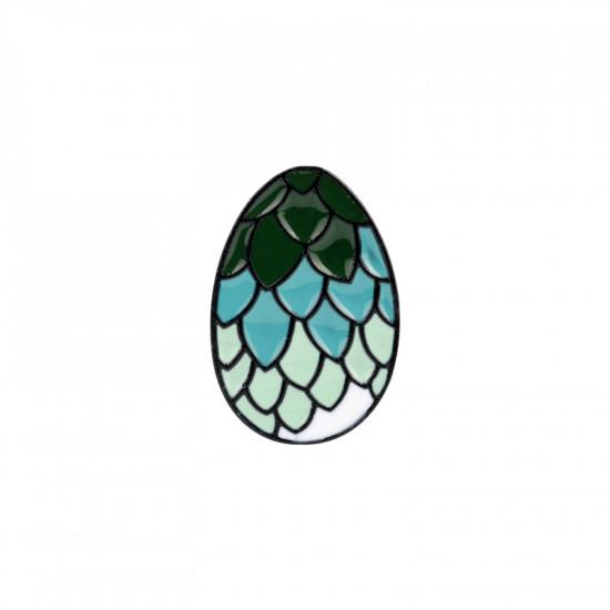 Brož Hra o Trůny - dračí vejce ( zelené)