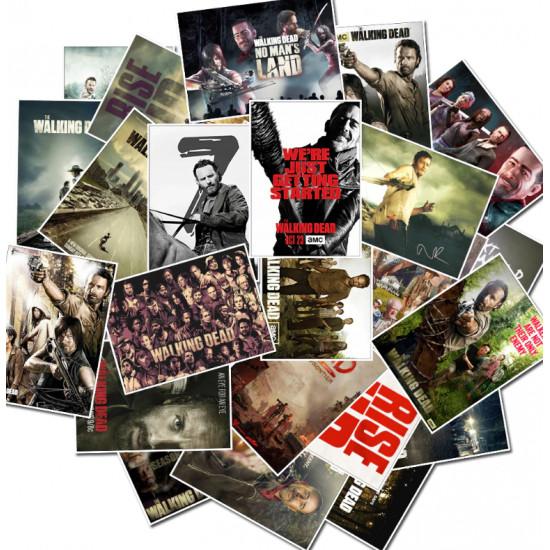 Samolepky - Živí mrtví / The Walking Dead