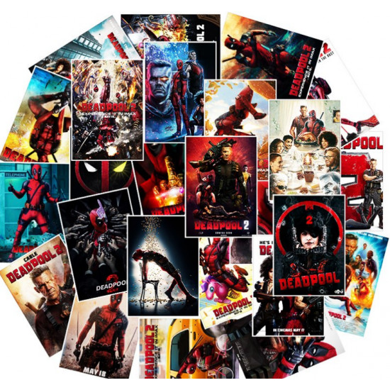 Samolepky - Deadpool