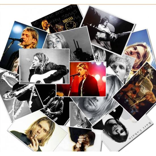 Samolepky - Kurt Cobain