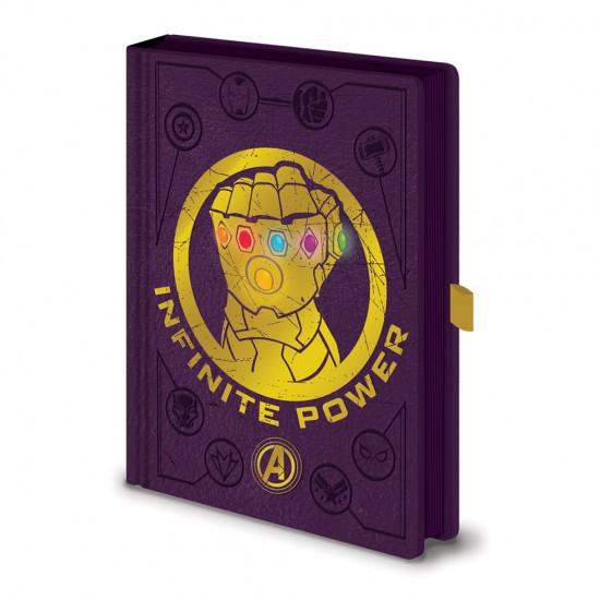 Diář Avengers - Svítící rukavice