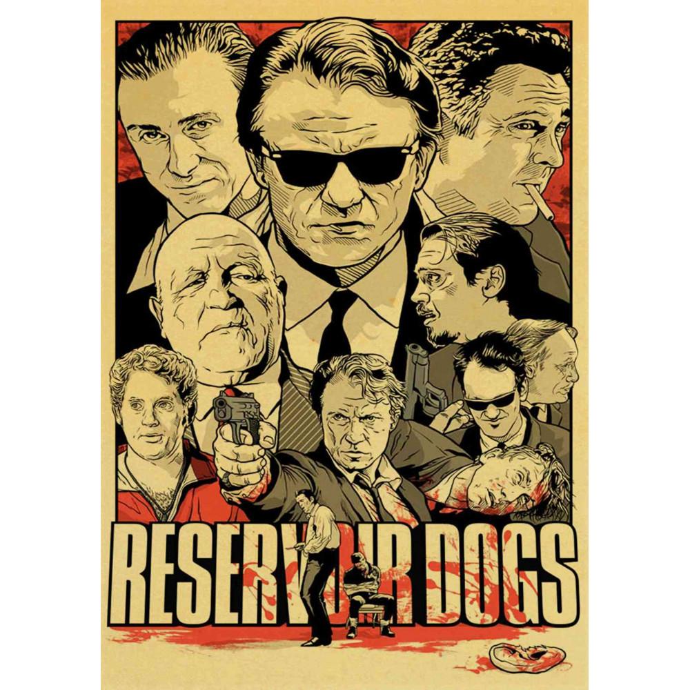 Plakát - Gauneři (Reservoir Dogs)